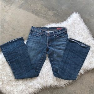 citizens of humanity denim flare wide leg jeans